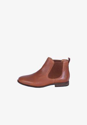 MANON - Ankle boots - cognac