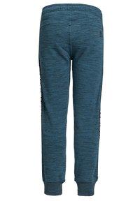 WE Fashion - SALTY DOG - Pantaloni sportivi - greyish blue - 4