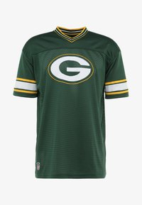 New Era - NFL GREEN BAY PACKERS OVERSIZED LOGO TEE - Klubové oblečení - green - 3