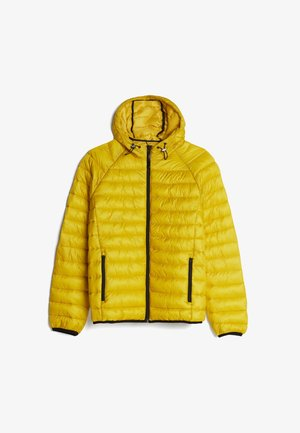 MIT KAPUZE - Lehká bunda - yellow