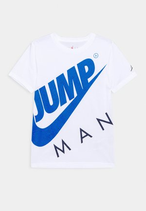 JUMPMAN STREET TEAM - Printtipaita - white