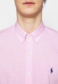 Polo Ralph Lauren - NATURAL - Shirt - pink/white - 5