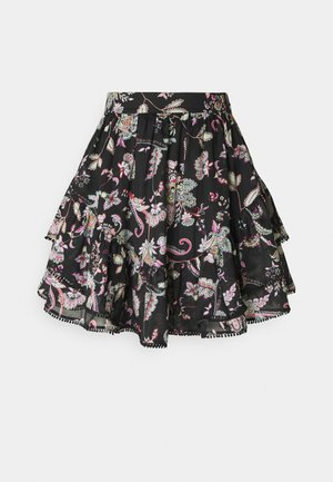 GONNA CORTA - A-line skirt - nero