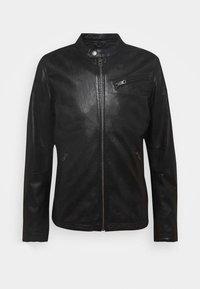 Freaky Nation - EASY JIM - Leather jacket - black - 4