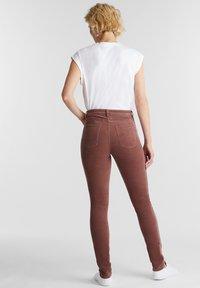 Esprit - Trousers - dark mauve - 2