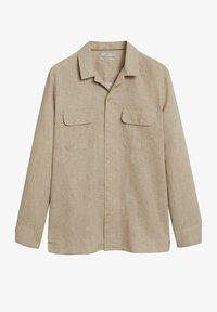 Mango - Shirt - open beige - 5