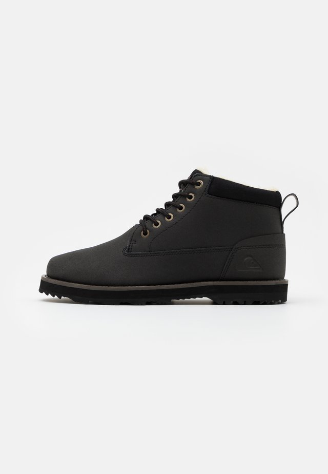 MISSION BOOT - Vinterstøvler - solid black