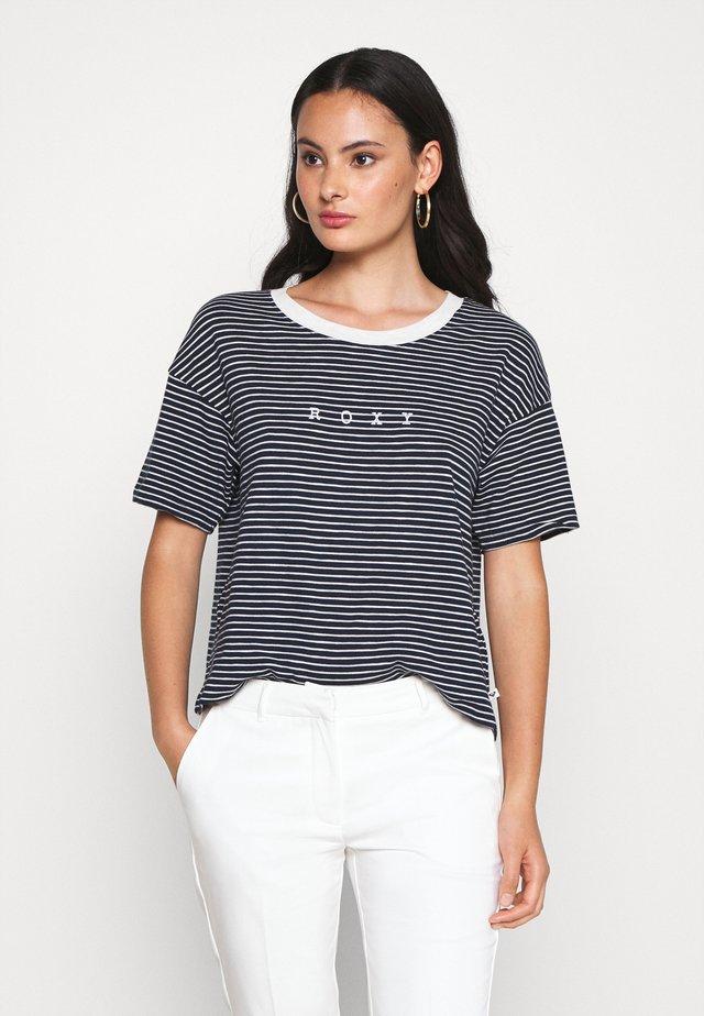 INFINITY IS BEAUTIFUL - T-shirt imprimé - mood indigo