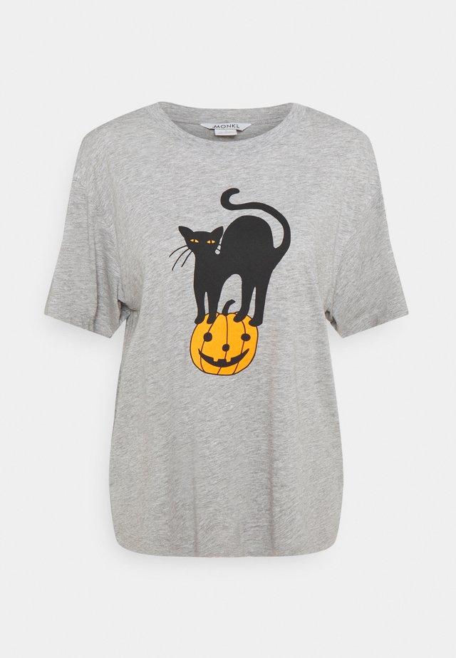 TOVI TEE  - T-shirt z nadrukiem - grey