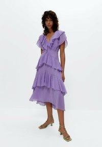 Uterqüe - Day dress - lilac - 1