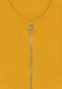 New Look 915 Generation - ZIP - Chaqueta de punto - yellow - 3