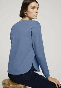 TOM TAILOR DENIM - Sweatshirt - soft mid blue - 4