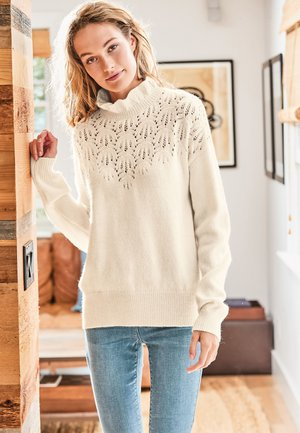POINTELLE  - Jumper - white