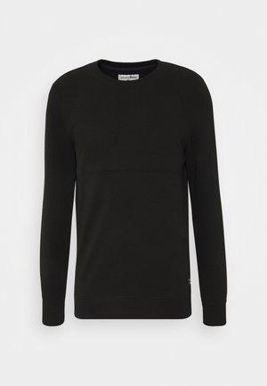 STRUCTURE CREWNECK - Sweatshirt - black