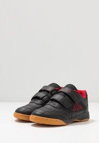 Kappa - KICKOFF - Sportschoenen - black/red - 3