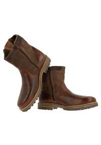 Gaastra - ANKLE BOOT/BOOTIE CASTOR HGH TMB - Cowboy/biker ankle boot - brown - 4