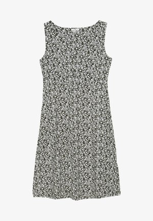 Vestido ligero - khaki/offwhite