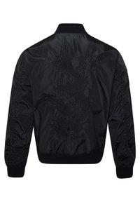 Ed Hardy - DRAG-CLOUD NYLON BOMBER JACKET - Summer jacket - black - 7