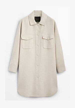 HANDMADE MIT TASCHEN  - Krótki płaszcz - beige