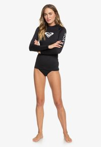 Roxy - WHOLEHEARTED - Rash vest - anthracite - 1