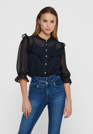 JACQUELINE DE YONG - Button-down blouse - night sky