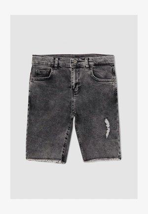 REGULAR FIT  - Jeans Short / cowboy shorts - grey