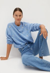 Mango - MARGARIT - Sweter - bleu ciel - 3