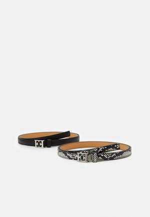 BELT 2 PACK - Pasek - black