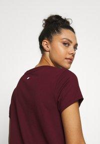 Tommy Sport - MIX CHEST LOGO - Print T-shirt - purple - 3