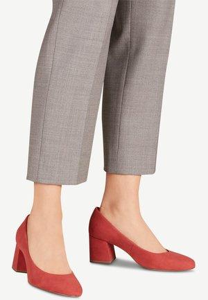 PUMPS - Classic heels - pale ruby