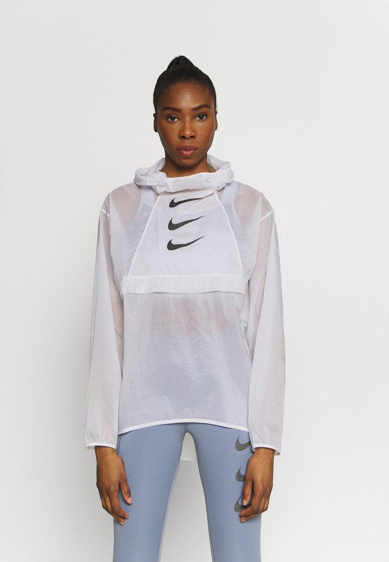 Nike Performance - RUN  - Sports jacket - white/black