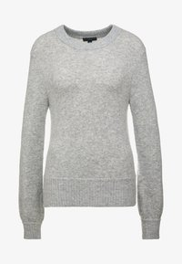 J.CREW - SUPERSOFT CREW OUT EXCLUSIVE - Jumper - heather grey - 4