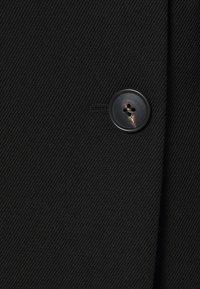 Victoria Beckham - DOUBLE BREASTED TUXEDO COAT - Klasický kabát - black - 8