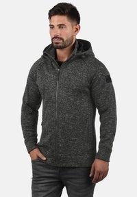 INDICODE JEANS - CHILLINGWORTH - Zip-up hoodie - dark grey - 1
