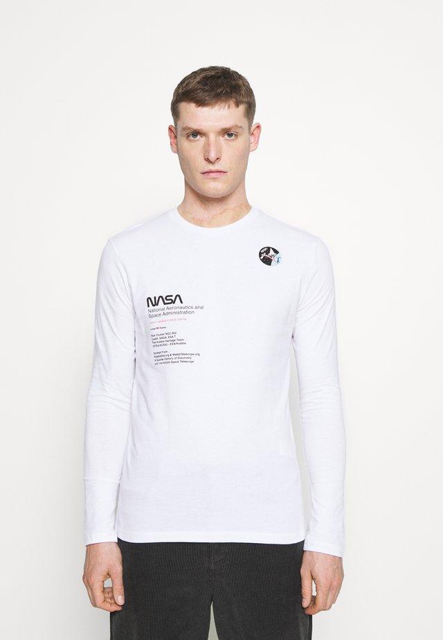 NASA - Maglietta a manica lunga - white