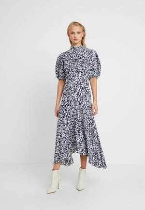JENNA DRESS - Maxi dress - navy/white