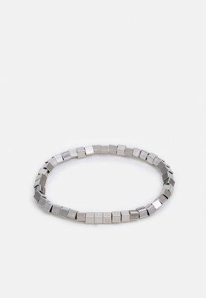 E-CUBES BRACELET - Bracelet - silver-coloured