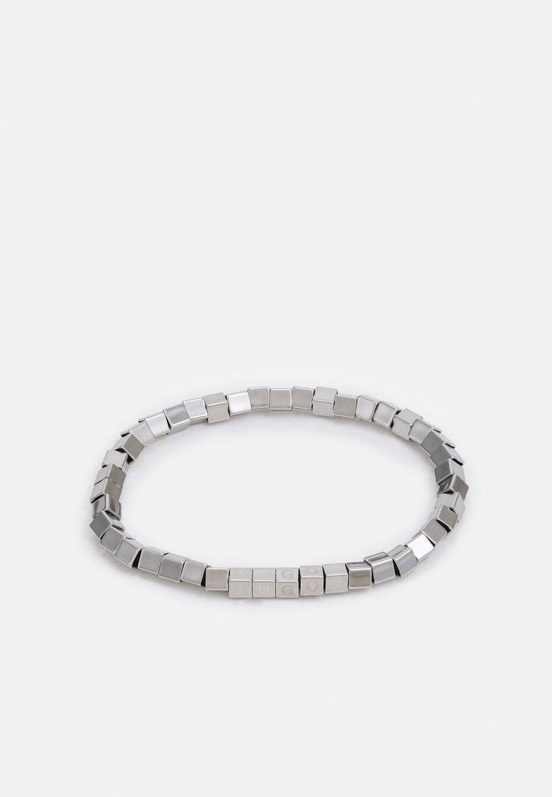HUGO - E-CUBES BRACELET - Bracciale - silver-coloured