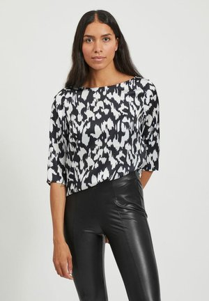 VIKAT 3/4 SLEEVE - Blouse - black 1