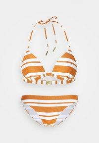 Maryan Mehlhorn - COPERNICA  SET - Bikiny - white/copper - 0