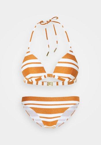 COPERNICA  SET - Bikinit - white/copper