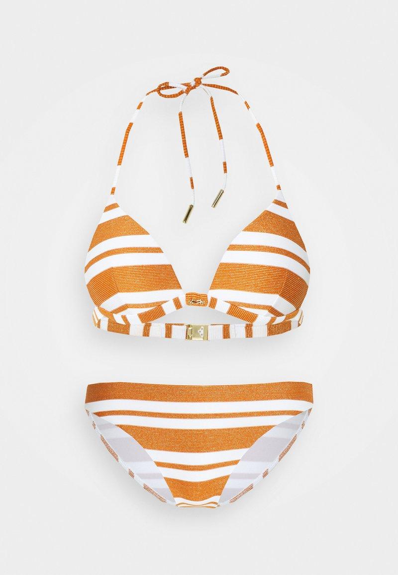 Maryan Mehlhorn - COPERNICA  SET - Bikiny - white/copper