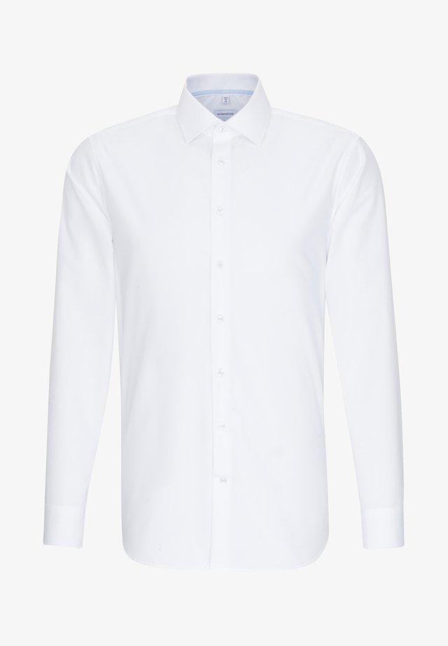 SLIM FIT - Koszula biznesowa - weiss