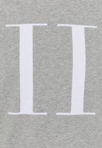 Les Deux - ENCORE  - Print T-shirt - grey melange - 6