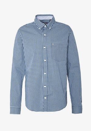 POPLIN GINGHAM - Skjorter - clear blue