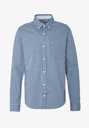 POPLIN GINGHAM - Shirt - clear blue