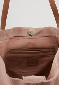Anna Field - LEATHER - Shopping bag - rose - 5