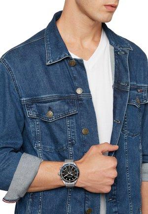 SAIL  - Chronograph watch - acciaio nero blu