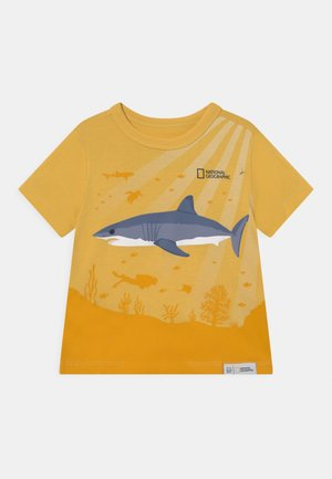 NATIONAL GEOGRAPHIC TODDLER BOY GRAPHICS - T-shirt print - country yellow