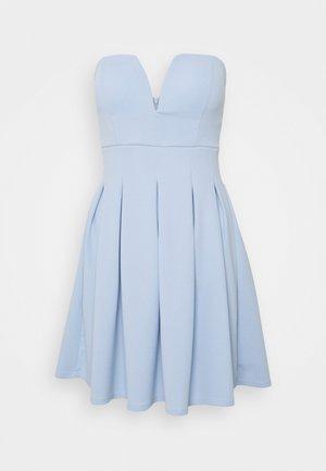 SIMONE CUPPED SKATER DRESS - Vestido de cóctel - baby blue